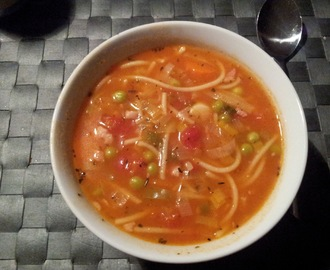 Minestrone suppe