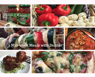 3 Mid-week Meals with Dolmio