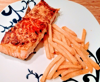 MUSTARD CRUST SALMON FILLET