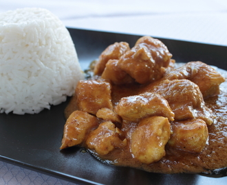Curry de pollo - Pollo al curry