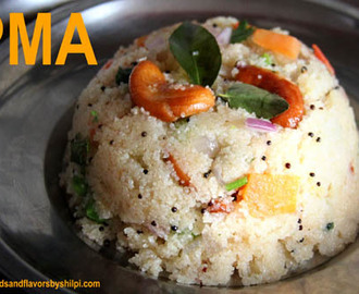 Upma Recipe – Rava Upma Recipe – How to Make Sooji Upma Recipe