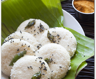 Idli- Steamed rice and lentil cakes, Vegan and gluten free