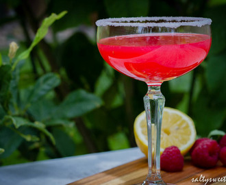 Raspberry Lemon Martini