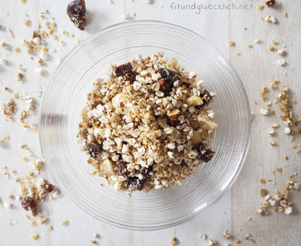 {Clean Eating} Zuckerfreies Granola