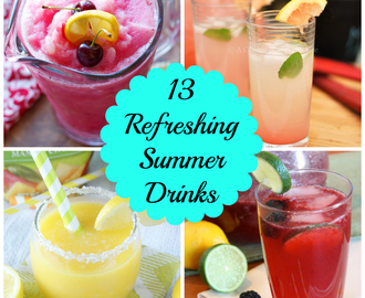 13 Refreshing Summer Drinks