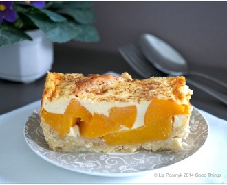 On Peach Kuchen Pie and baking from scratch