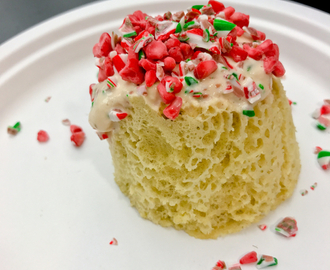 Les Petits Chefs make gingerbread micro sponge with candy cane ice cream and raspberry niblets with John Placko