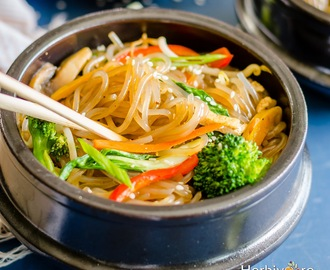Japchae | Korean Stir-Fry Noodles