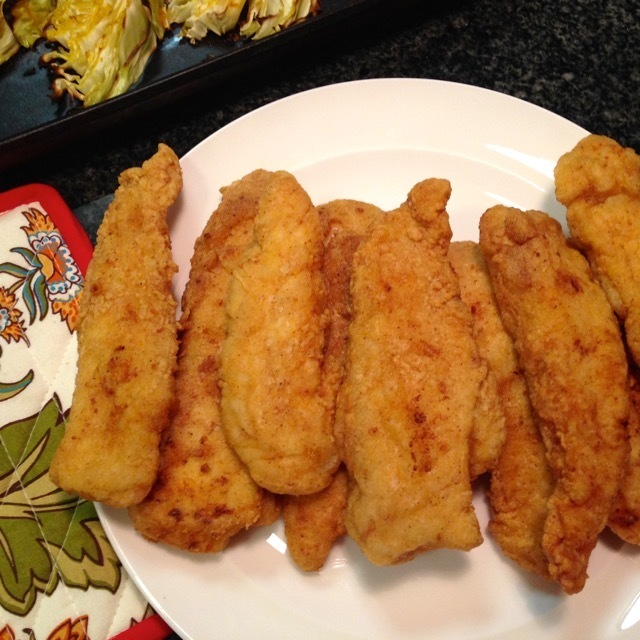 Gluten Free Fried Chicken Tenders #glutenfree #caseinfree