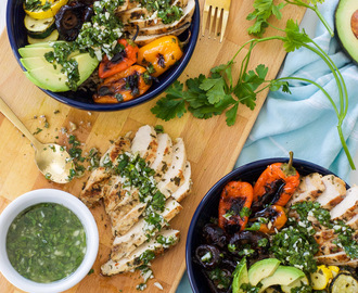 Chimichurri Grilled Chicken Bowl