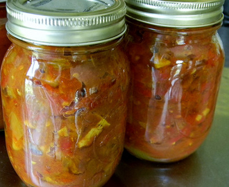 Two Tomato Chutney for a Summery #SundaySupper