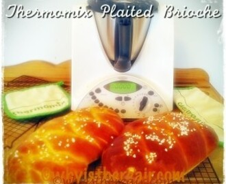 Thermomix France Plaited Brioche