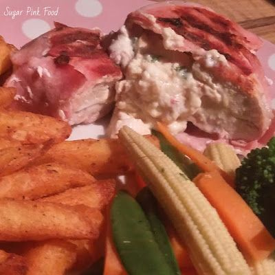 Slimming World Friendly Recipe: Bacon Wrapped Jalapeno Popper Stuffed Chicken & Tex Mex Chips