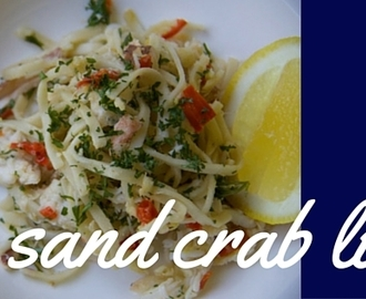 sand crab linguine