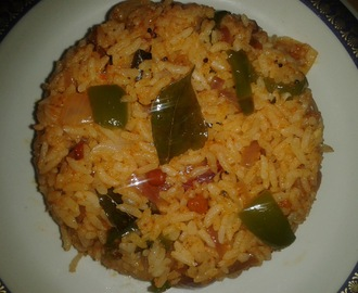 CAPSICUM RICE \ BELL PEPPER RICE