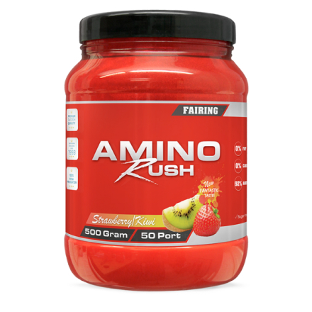 Amino Rush, 500 g Strawberry/Kiwi