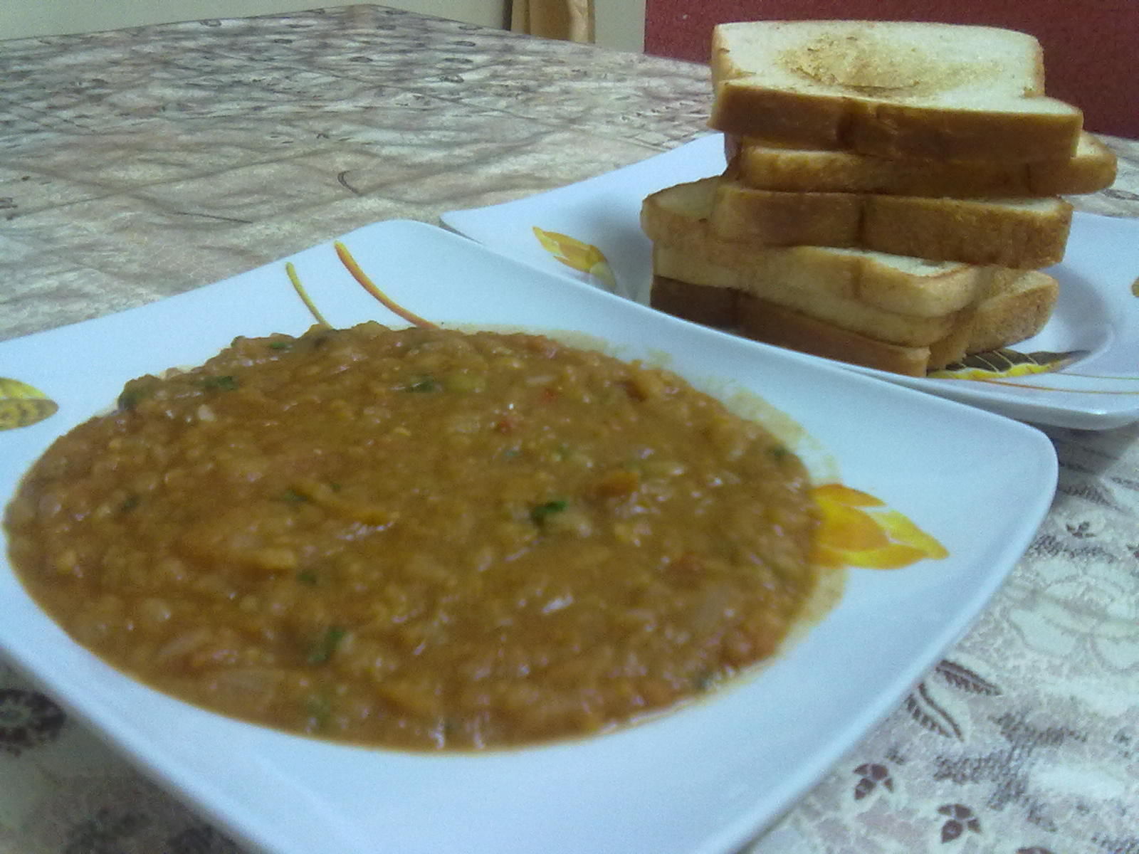 Indian Street Food : Pav Bhaji