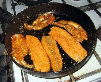 Fried Sole fish and Sardines