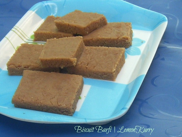 Biscuit Barfi | Steamed Barfi | Valentine's Day Special