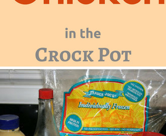 CrockPot Apricot Chicken Recipe