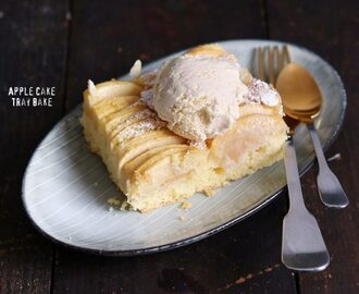 Easy Apple Cake Tray Bake
