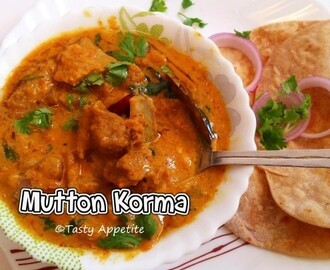 MUTTON KORMA / CHETTINAD MUTTON KORMA - Easy Video Recipe
