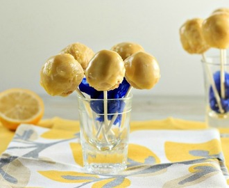 Lemon Cream Cake Pops Low Carb