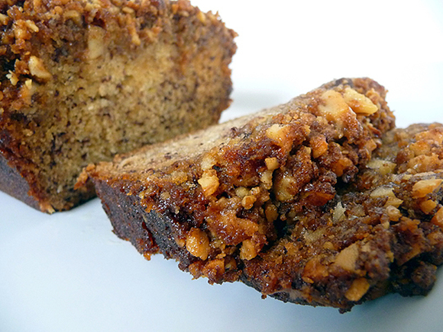 Caramelized Banana Foster Bread: Coffee Cake or Dessert