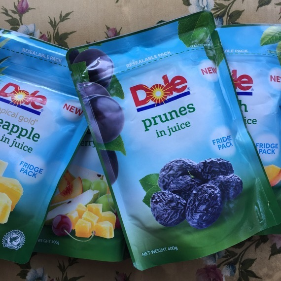Spring Time Smoothies in a Bowl with Dole Fridge Packs