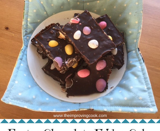 Easter Chocolate Fridge Cake