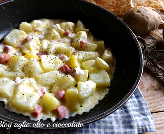 PATATE CREMOSE IN PADELLA