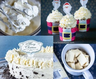 3-Ingredient White Chocolate Cheesecake Frosting