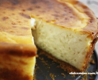 Cheesecake de arroz con leche