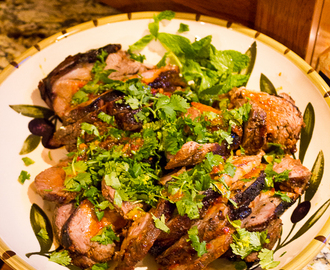 Harissa Roasted Lamb