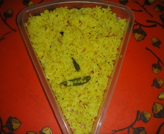 MAMIDIKAYA PULIHORA-SEASONED MANGO RICE