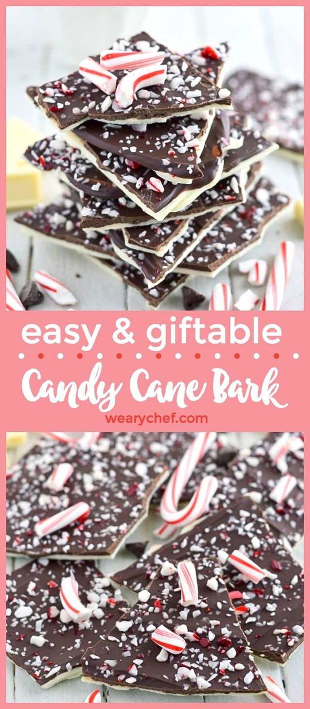 Easy Candy Cane Bark