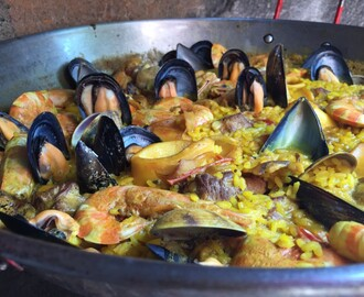 Comentario en Paella de mariscos por Risotto de mariscos, receta fácil - Fran is in the Kitchen