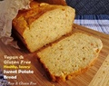 Healthy, Savory, Vegan and Gluten Free Sweet Potato Bread