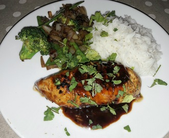 Chicken Breasts with Chilli, Lime and Hoisin - Recipe