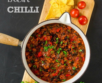 Recipe: Chipotle & Black Bean Chilli
