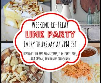 The Weekend re-Treat Link Party #79