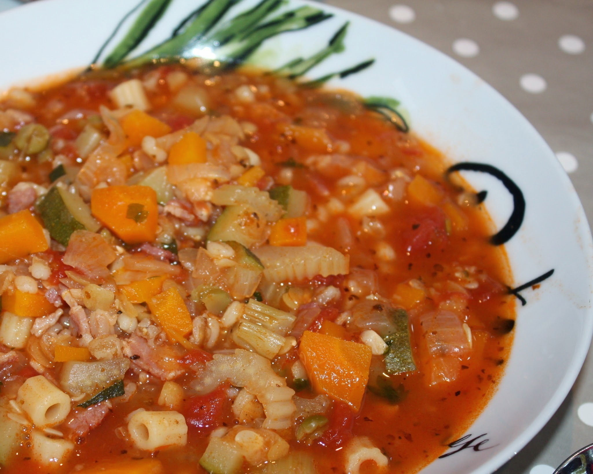 Minestrone Soup Recipe - Using Dry Minestrone Mix