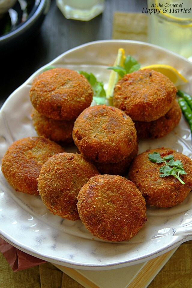 Fish Cutlets {Indian Fish Croquettes}