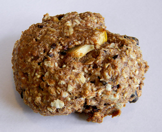 Apple - Oat Breakfast Cookies (Back to School #SundaySupper)