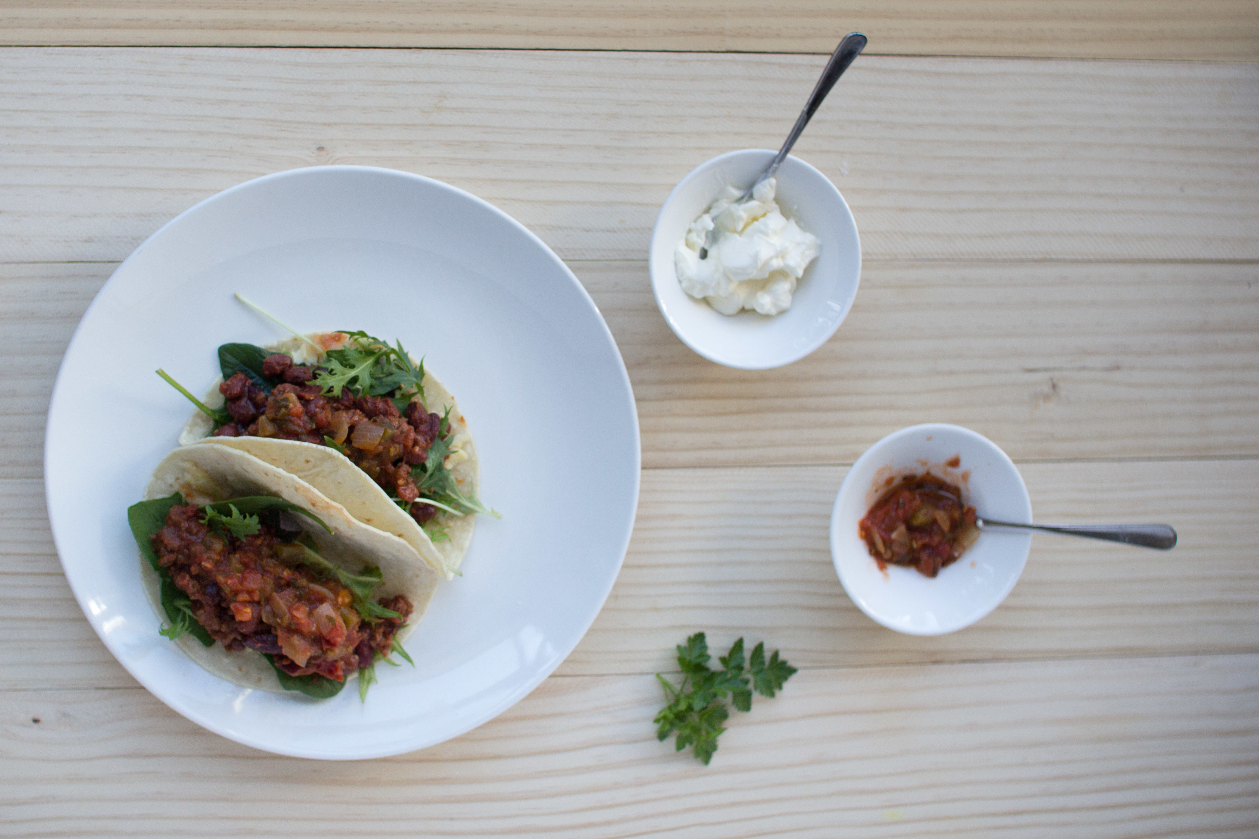 Soft tacos – a quick, easy Mexican dinner