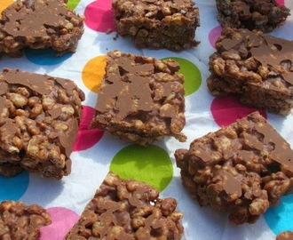 Chocolate Peanut Butter Crispies