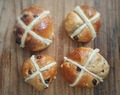 Breadmaker Earl Grey Hot Cross Buns