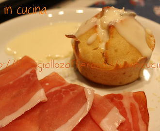 MUFFIN AL GORGONZOLA RICETTA FINGER FOOD