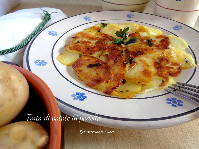 Torta di patate in padella
