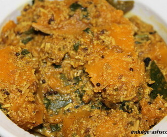 Baakar Bhaji - Pumpkin Subji and an Award